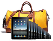 Kit bag an iPad