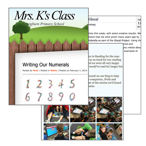 Class web site examples