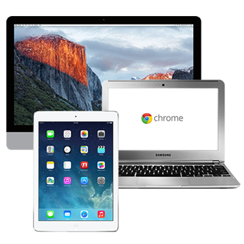 iMac iPad & Chromebook